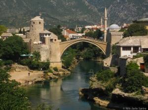 Stari Most - broen i Mostar.