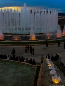 Font Màgica er en samling fontener som befinner seg ved Plaça d'Espanya ved Montjuïc.