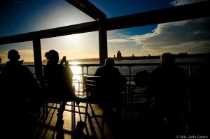 Cruise på elven Mersey.