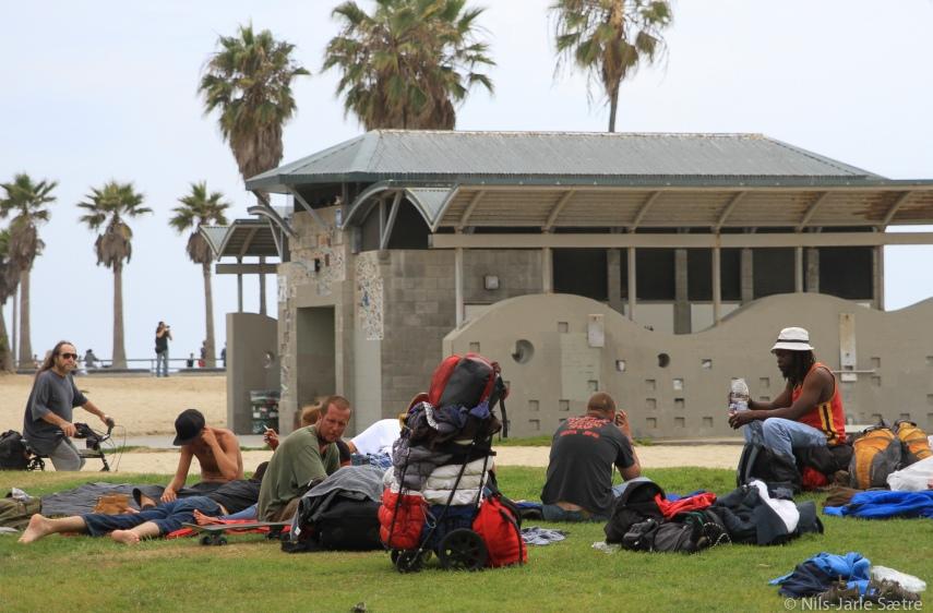 Venice Beach er et sted hvor mange nye vennskap får sin start.
