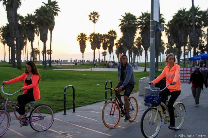 Sykkel er et glimrende fremkomstmiddel i dette området.